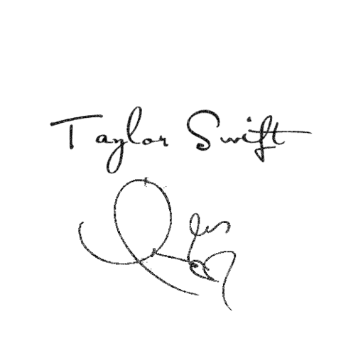 File:Taylor swift autograph png by angelaswifty-d4r7evf.png