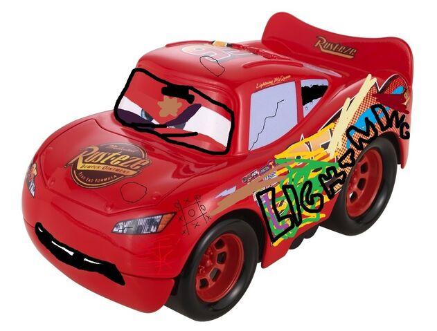 File:Funny Car King Crash n' Drive McQueen.jpg