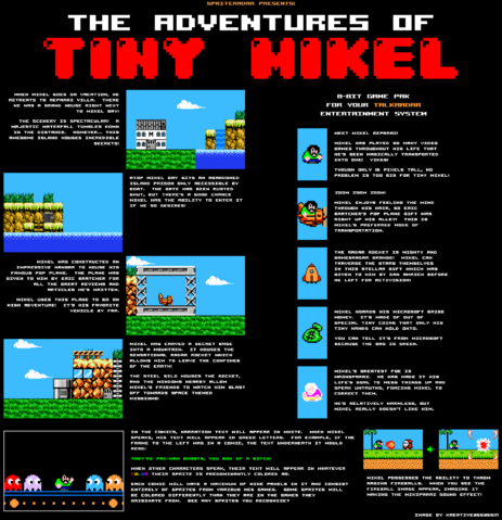 File:Final theadventuresoftinymikelarcadeflyer.png