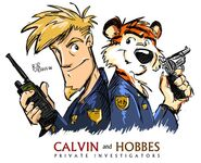 Spybreak8 Calvin and Hobbes P I by erikjdurwoodii--article image