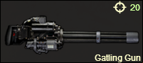 Gatling Gun New