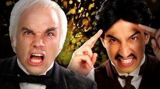 Nikola Tesla vs Thomas Edison. Epic Rap Battles of History Season 2.-0