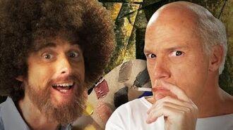 Bob Ross vs Pablo Picasso - Epic Rap Battles of History Season 3.-0