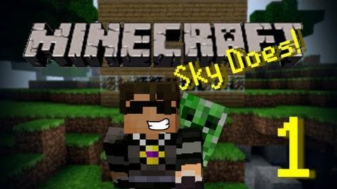 Sky Does Minecraft Episode 1 Shelter