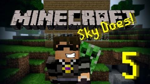 Sky Does Minecraft Episode 5 Search For a Cave