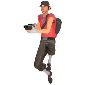 Scout jumping TF2