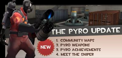 Pyro Update banner TF2