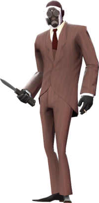 Spy disguised as Pyro TF2