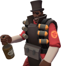 Demoman with the Scotsman's Stove Pipe TF2
