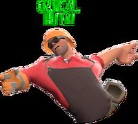 Critical hit on Engineer TF2