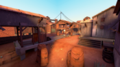 Fastlane overlooking a control point TF2