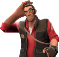 Sniper with the Ritzy Rick's Hair Fixative TF2