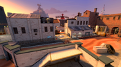 Freight overlooking a control point TF2