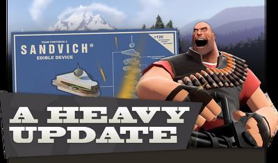 Heavy Update banner TF2