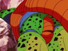 Cell's butt speaks