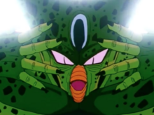 Cell uses the Solar Flare to escape