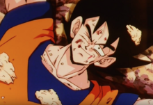 Goku after getting his body back