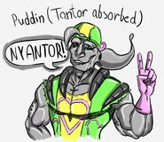 Puddin Tantor absorbed