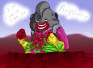 Dumplin fights Raspberry