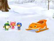 Team umizoomi and umi sled