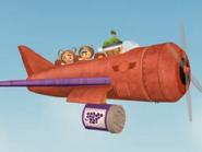 Team umizoomi's plane