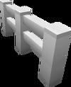 Block Iron Fence