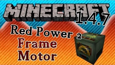 Tutorial Redpower omnidirectional frame control
