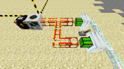 Engine w Conductive Pipe Powered Quarry