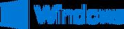 Windows logo and wordmark 2015