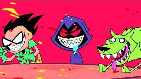 "Teen Titans Go! Season One Episode 38 ""Breakfast Cheese"" Clip"