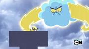 Angered Cloud teen titans