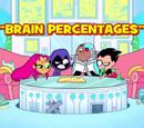 Brain Percentages