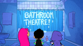 Bathroom theatre serious business