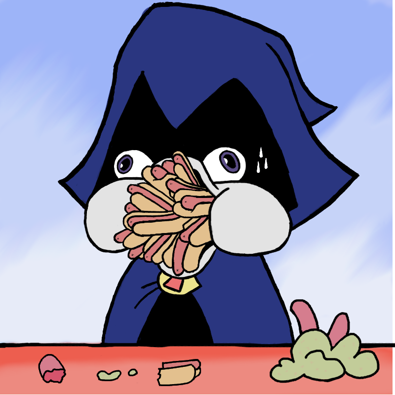 Image - Raven Too Much Hot Dogs By Anga1900-D65F706Png  Teen Titans Go Wiki -4208