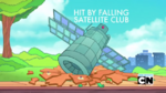 Joined the Hit By Falling Satellite Club