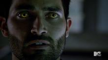 4x05 Derek yellow eyes