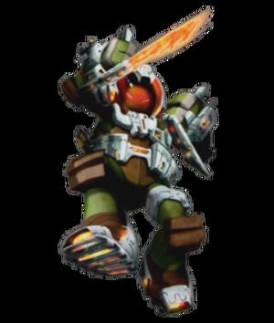 Dimension X Michelangelo Profile