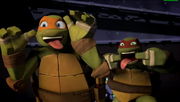 Mikey and Raph
