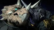 Rocksteady Versus Triceraton
