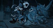 Attack Of The Mega Shredder Ending Scene