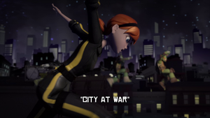 City At War Title Scene