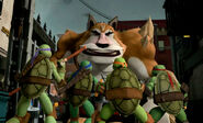 Turtles' First Encounter With Dogpound