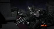 Shredder Misses In Attacking Splinter