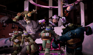 Turtles And Mutanimals Charging Into Action