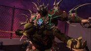 Donatello Versus Super Shredder