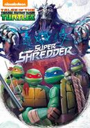 Tales Of The TMNT Super Shredder DVD