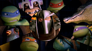 Turtles And Mutanimals Versus Shredder