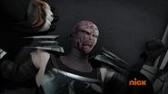 Defeated Maskless Shredder 1