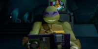 Donatello's laptop