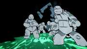 Birth of Splinter and Turtles